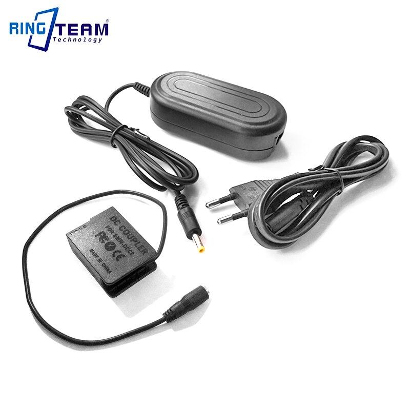 AC adaptador de energía Kit de DMW-AC8 + DMW-DCC8 (DMW-BLC12) para Panasonic Lumix GX8 FZ1000 FZ300 FZ200 G7 G6 G5 GH2 GH2S G80 G85 cámaras