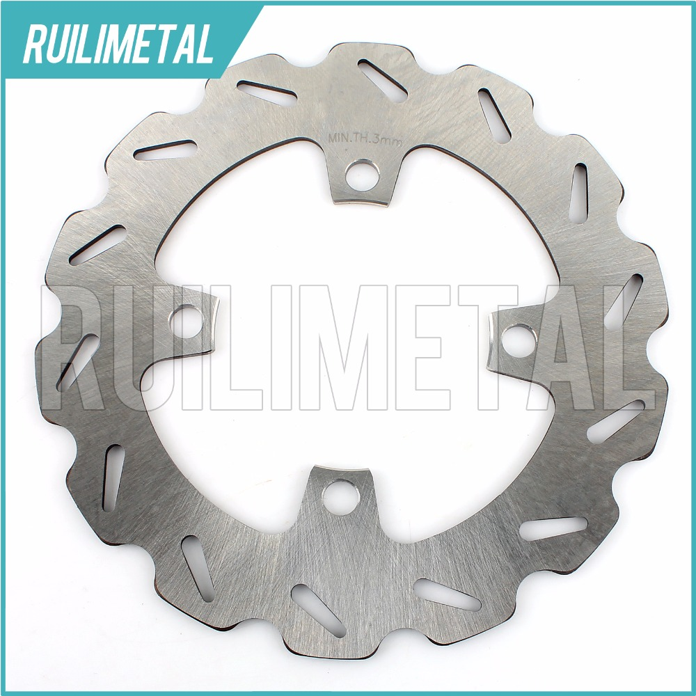 Front Brake Disc Rotor for YAMAHA YFM 350 Grizzly Auto 4x4  Bruin Wolverine 2x4 2WD 06-09 ATV QUAD keoghs motorcycle brake disc brake rotor floating 260mm 82mm diameter cnc for yamaha scooter bws cygnus front disc replace