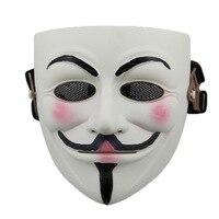 Najwyższej klasy Nowy Oryginalny Party Halloween Maski Karnawałowe Maski Masque CPAM V Jak Vendetta Zespół guy fawkes maskarada Żywica V CS maska