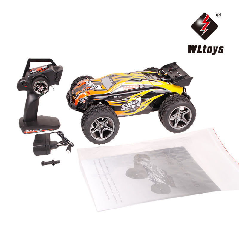 original wltoys wl k979 super rc racing car 4wd 2 4ghz drift remote control toys high speed 30km h electronic off road rc cars WLtoys 12404 RC Cars 1/12 4WD Remote Control Drift Off-road Rar High Speed Bigfoot car Short Truck Radio Control Racing Cars