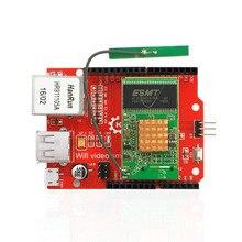 RT5350 מודול Openwrt נתב WiFi אלחוטי וידאו חומת הרחבת לוח עבור Arduino פטל Pi