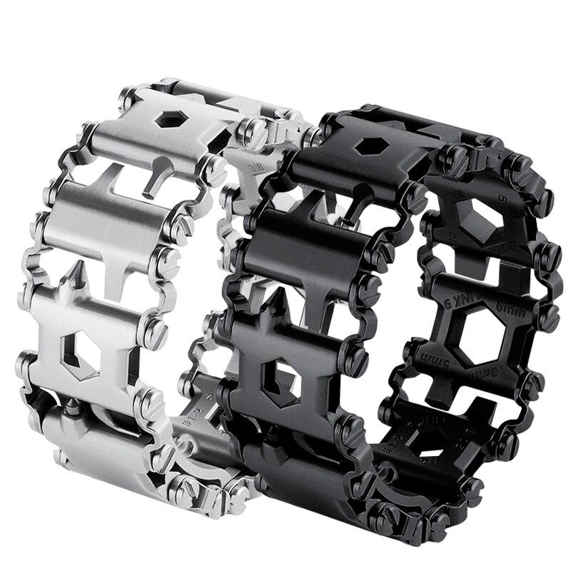 Multifonctionnel bracelet de Haute qualité en acier inoxydable bande 20mm 22mm 24mm 26mm 28mm hommes montre bracelet