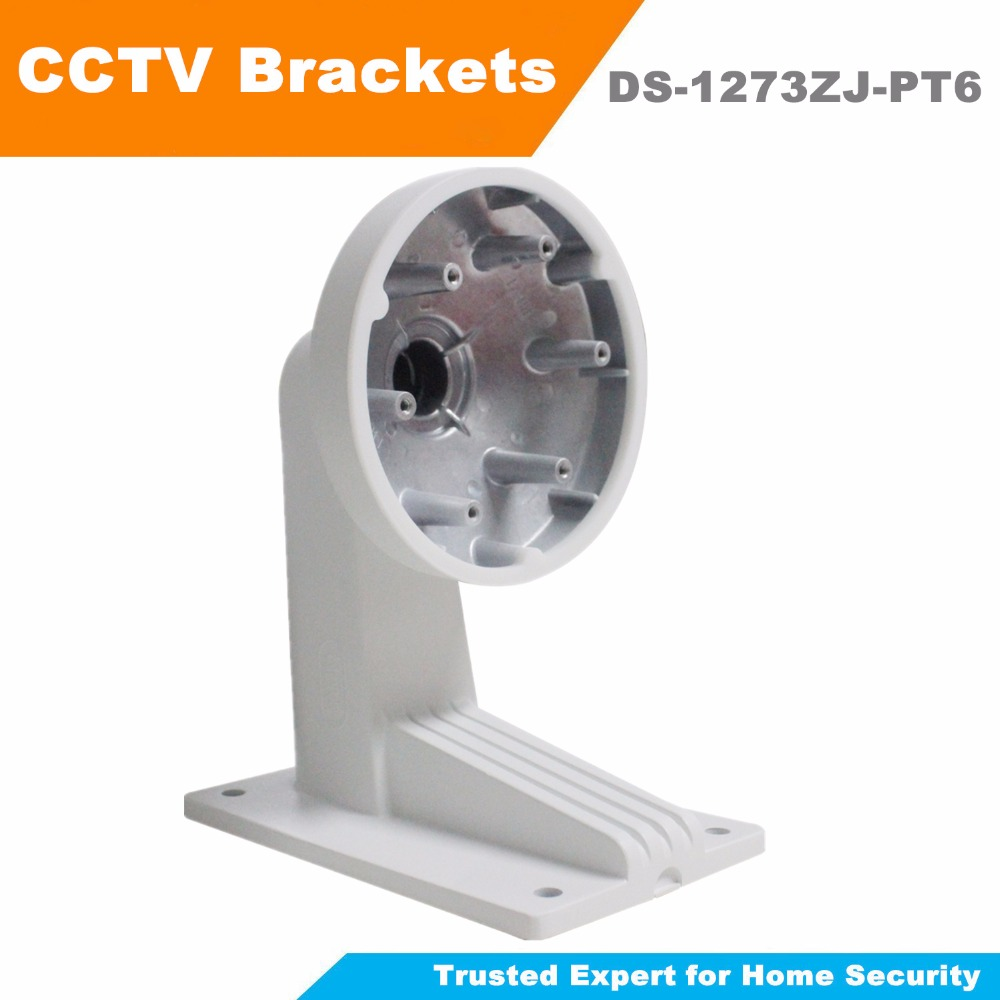 [ In Stock ] Original Hikvision Wall Mount Bracket DS-1273ZJ-PT6 High Quality CCTV Bracket for CCTV Camera DS-2DE3304W-DE ds 1276zj corner mount bracket for cctv camera