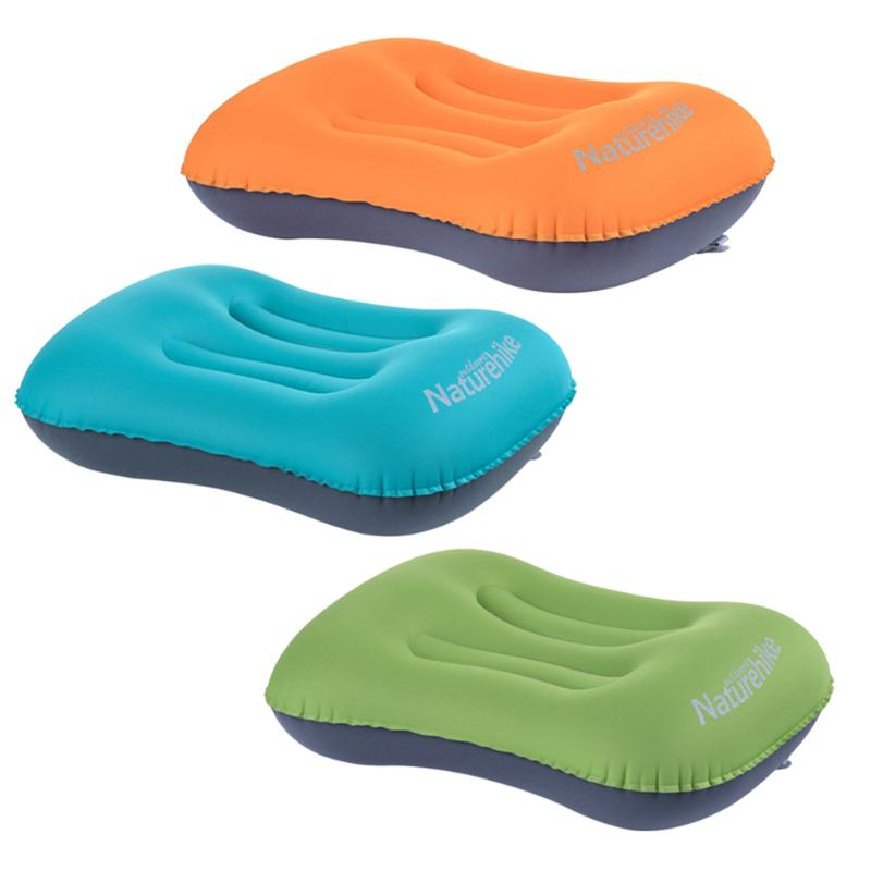 1* Ultralight Mini Inflatable Air Pillow Beds Cushion Travel Hiking Camping Rest