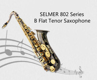 Brand France Selmer 802 Tenor Saxophone Professional Bb Tune Black Nickel Gold Plated Sax Mouthpiece With