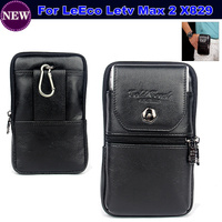 Luxury Genuine Leather Carry Belt Clip Pouch Waist Purse Case Cover For LeEco Letv Le Max