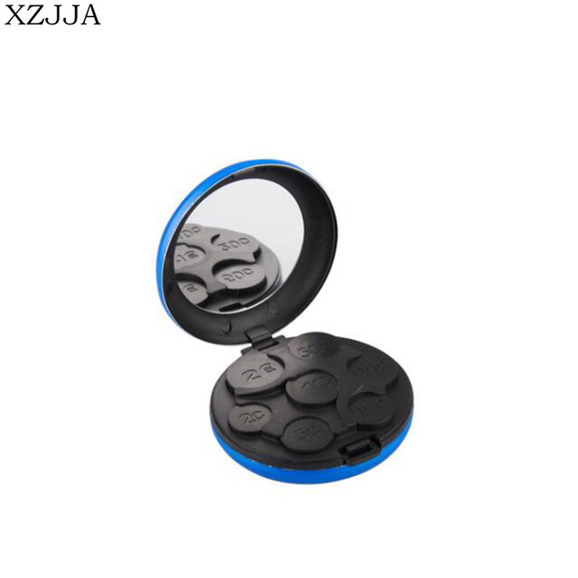 XZJJA Creative High Quality Mini Euro Coin Dispenser Coin Collection ...