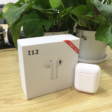 I12 СПЦ мини 1:1 Bluetooth 5,0 гарнитура Спортивный Пот True беспроводной Touch наушники вызова наушники