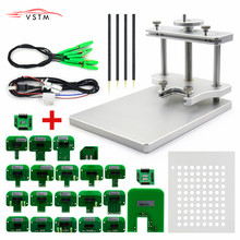 New arrived LED BDM Frame Stainless steel Work for KESS V2/Ktag/ Fgtech with free shipping
