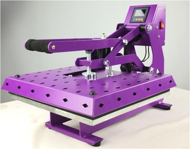 taobao t shirt heat transfer printing machine with plate size 40x 50cm and 110V voltage