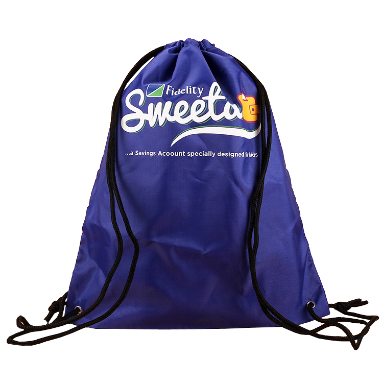 Customized Polyester Cinch Bag Sling Bags For Shopping Or Promotions