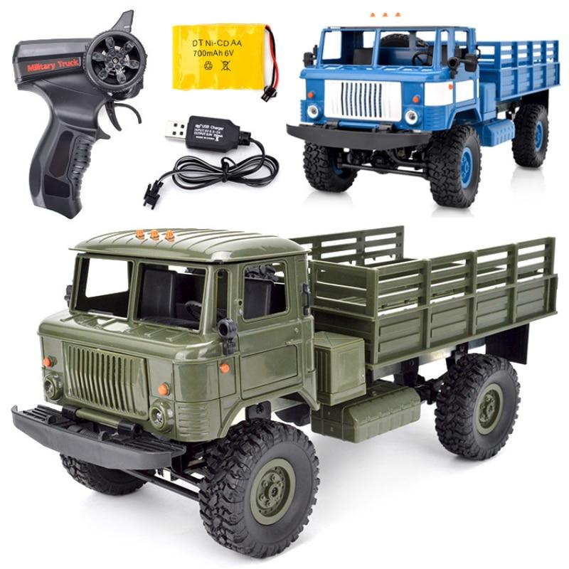 Электрический военный Радиоуправляемый грузовик нового поколения, 1/16, 25 минут, 80 м, 4x4, высокая скорость, внедорожник