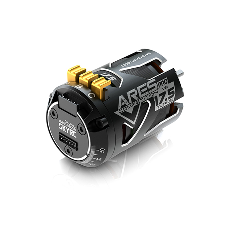 SKYRC 540 ARES PRO V2 1/10 Sensored Brushless Motor Competition Motor Extreme Performance for RC 1:10 Model AccessoriesSKYRC 540 ARES PRO V2 1/10 Sensored Brushless Motor Competition Motor Extreme Performance for RC 1:10 Model Accessories