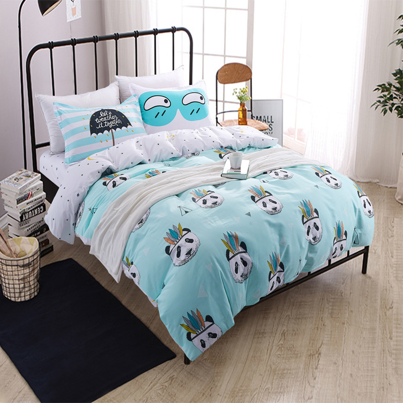Online Buy Wholesale panda bedding set from China panda