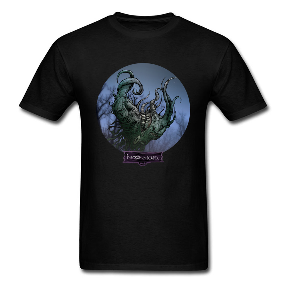 Mythology Monster Tshirt Shub Niggurath Evil Dark God Mens Novelty Story T-Shirts For Men Fathers Day Gift Full Cotton Tees