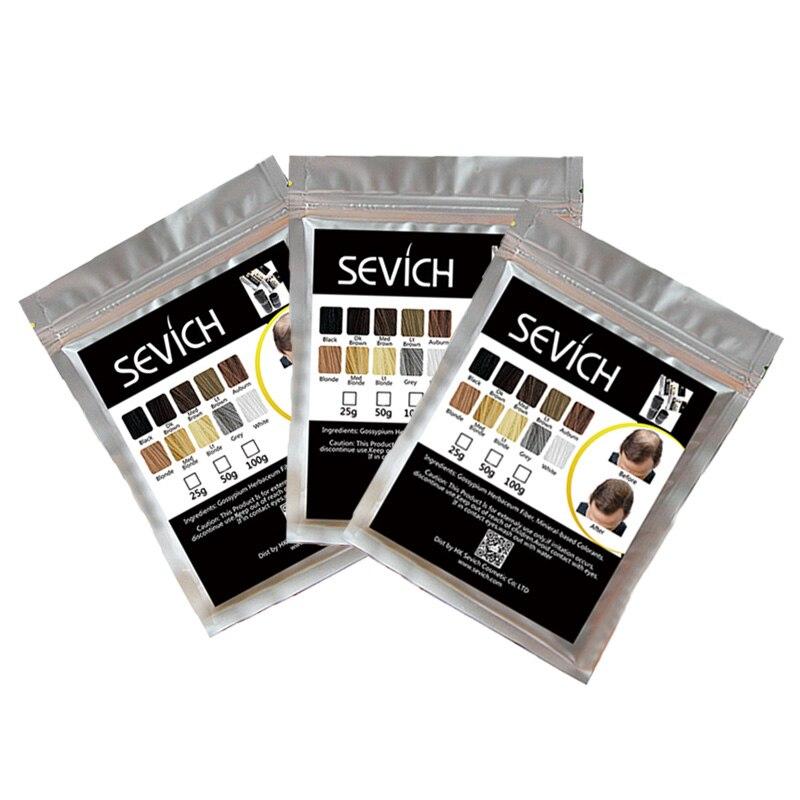 Hot Sale 25/50/100g Hair Building Fibers Hairline Thickening Fiber for Men Women