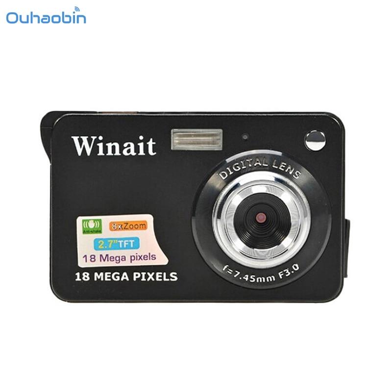 Ouhaobin Children Portable Mini Camera HD 500 CMOS 18 Mega Pixels 2 7 inch Camera TFT