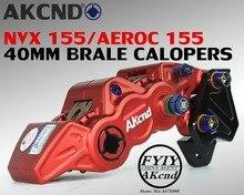 Dành cho Xe Yamaha nvx155 aerox155 40mm phanh phanh giá đỡ xe máy modifivation CNC aluminim hợp kim phanh phanh chân đế