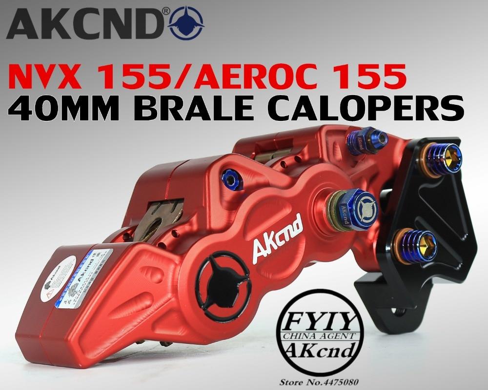 For Yamaha nvx155 aerox155 40mm brake caliper bracket motorcycle modifivation CNC aluminim alloy brake caliper bracket-in Brake Shoe Sets from Automobiles & Motorcycles