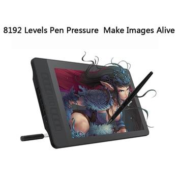 GAOMON PD1560 15.6 inch IPS HD Art Schilderen Grafische tablet met Screen 8192 Niveaus Druk Pen Tablet Display voor Tekening handschoen