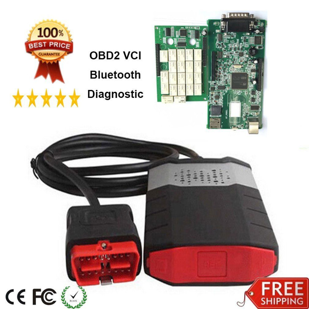 OBD2 Scanner Car Diagnostic Tool Convenient Dual Green Boards Scanning Apparatus Vehicle Scanning Kit For ODB Cars Trucks ELM327