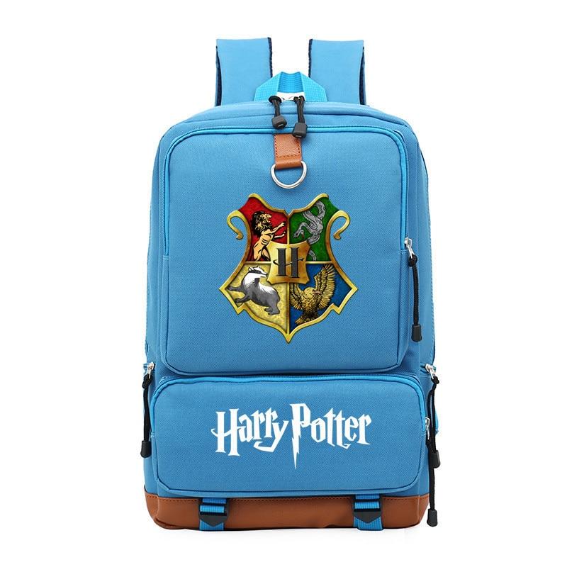New harry Potter Hogwarts Printing Backpack Canvas Laptop Backpack harry Potter Travel Bags School Bags for Teenage GirlsNew harry Potter Hogwarts Printing Backpack Canvas Laptop Backpack harry Potter Travel Bags School Bags for Teenage Girls