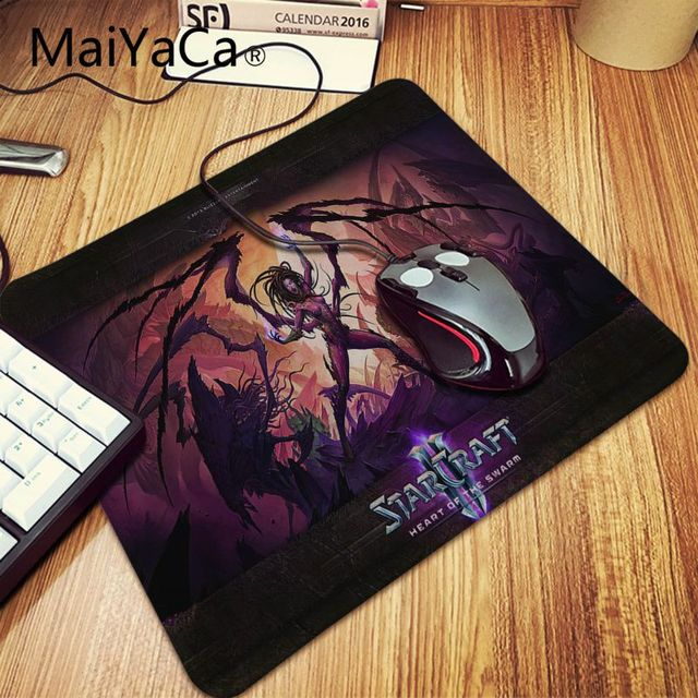 MaiYaCa Boy Gift Pad Starcraft heart of the swarm Durable Desktop Mousepad anime dota2 Soft Rubber Professional Gaming Mouse Pad 1