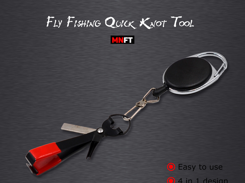 4 in 1 Quick Knot Tool