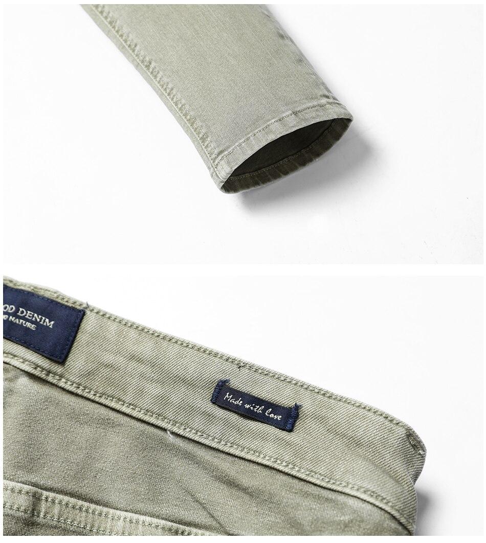 HTB1JcC.hDnI8KJjSszbq6z4KFXaf - SIMWOOD Fashion Paint Splat 2019 Vintage Men Jeans Casual Hole Zipper Denim Pants Man Trousers Plus Size Free Shipping NC017053