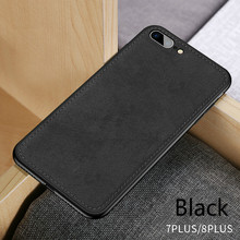 Ultra-thin Fabric Phone Case iPhone 6 6s Plus 7 8 Plus X XR XS Max