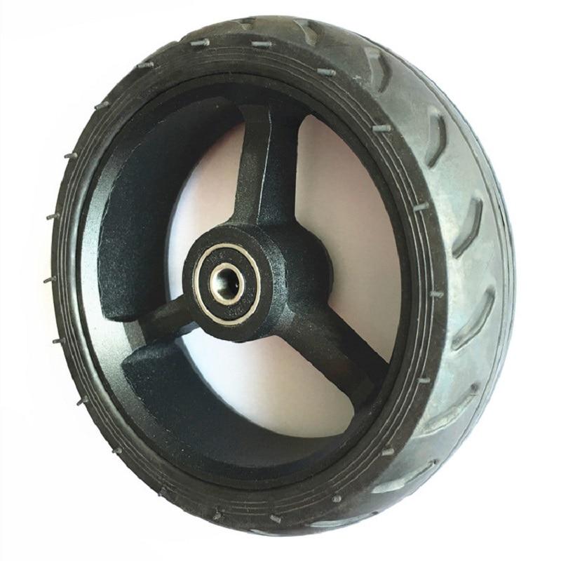 Roues de moyeu de fibre de carbone solide de dos rapide de scooter électrique de 5.5 pouces 140mm X 40mm