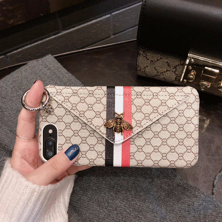 Luxury Classical 3D Metal Bee Phone Case for iPhone X 6 6S 7 8 Plus XS