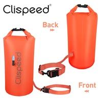 Clispeed 1 шт. буй для плавания ультралегкий плавающий Водонепроницаемый сухой мешок для серферов