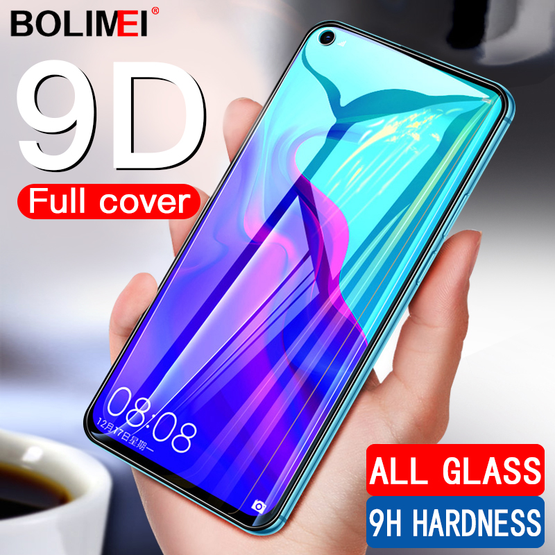 Image 1 - 9D Full Cover Tempered Glass On The For Huawei Nova 4 3 3i 3e Screen Protector Film For Honor 10 Lite V10 V20 Protective Glass-in Phone Screen Protectors from Cellphones & Telecommunications