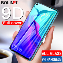 9D Full Cover Tempered Glass On The For Huawei Nova 4 3 3i 3e Screen Protector F
