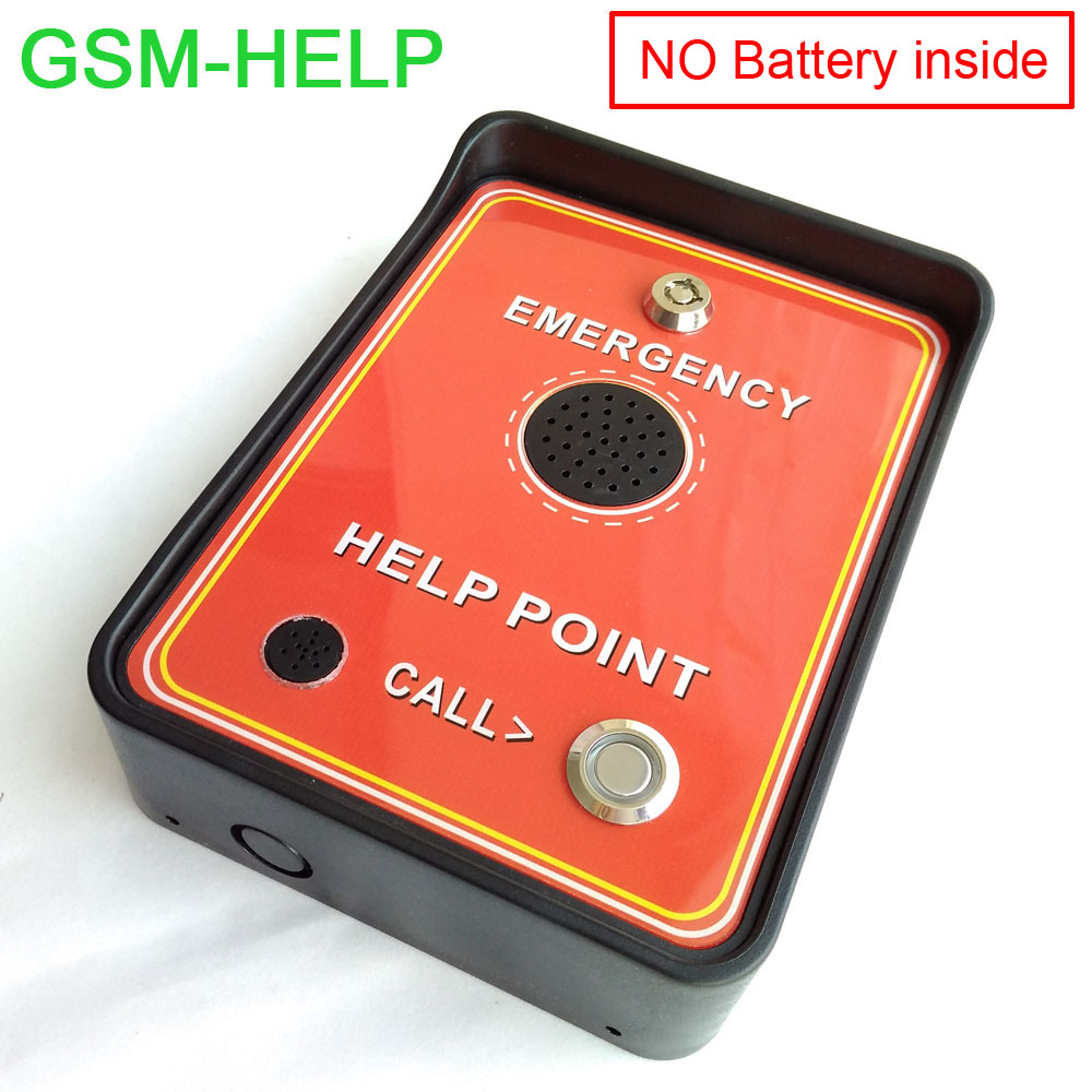 Free shipping GSM Audio Intercom - for service help , emergency help ,taxi help