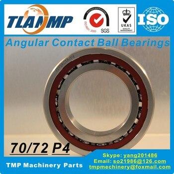 7212C 7212AC SU/DB/DF/DT /P4 Angular Contact Ball Bearing (60x110x22mm) TLANMP High Speed P4 grade Spindle bearings