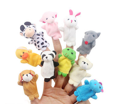 10-Pcs-Family-Finger-Puppets-Cloth-Doll-Baby-Educational-Hand-Cartoon-Animal-Toy-2