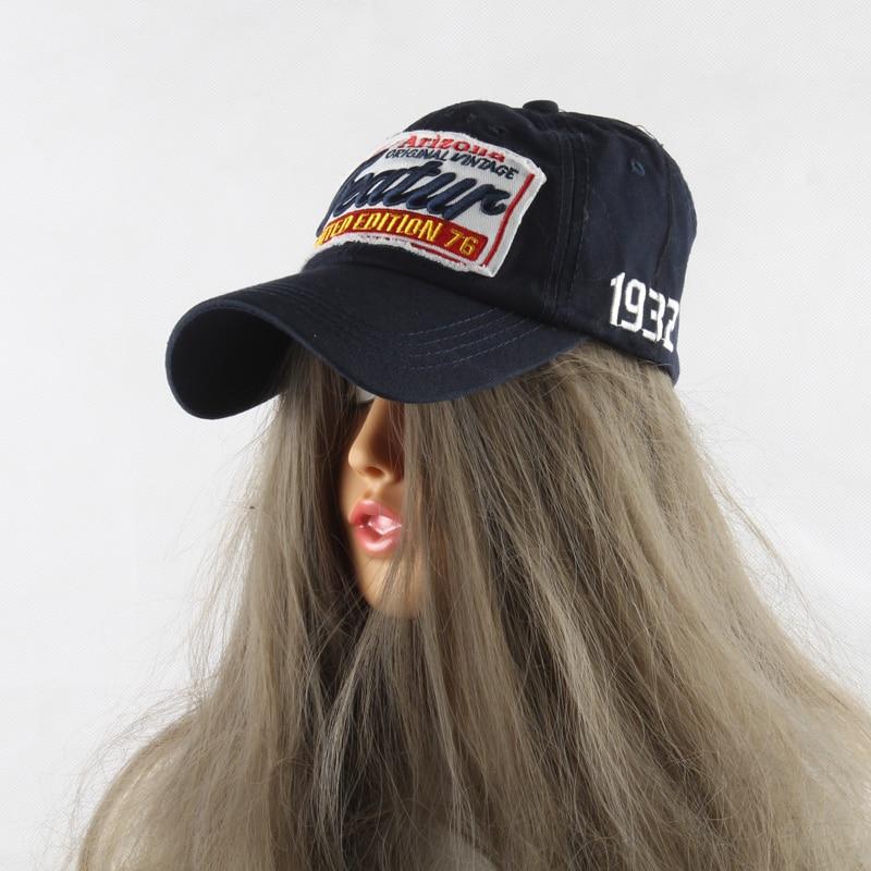 2019 Neue Frauen Baseball Caps Stickerei Baumwolle Papa Hut Trucker - Bekleidungszubehör - Foto 4