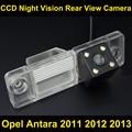 Cámara de visión trasera para Opel Antara 2011 2012 2013 CCD de Copia de seguridad para Estacionarse en Reversa Cámara de Visión Nocturna