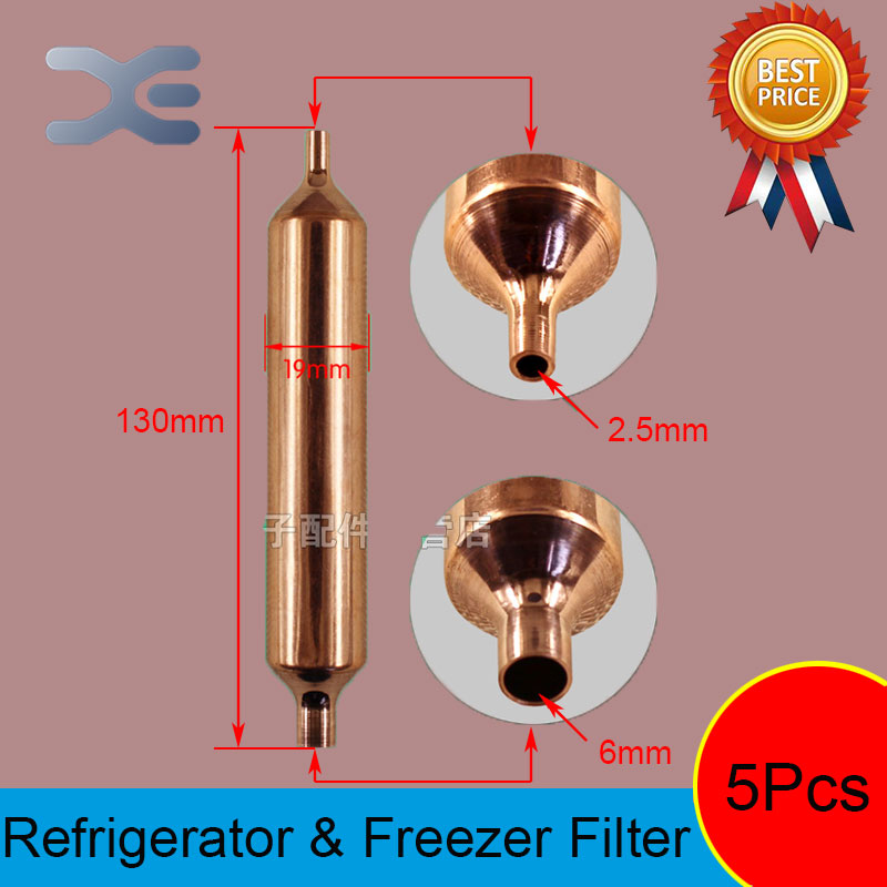 5Pcs Freezer Parts Repairing Refrigerators Refrigerator Parts Freezer Spare Parts Refrigerant Ball Valve 130*19mm