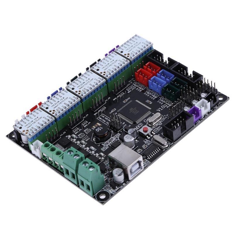 3D Imprimante Accessoires MKS GEN V1.0 3D Imprimante Carte Contrôleur + TMC2208 V1.0 Driver Moteur pas à pas Pour Imprimante 3D