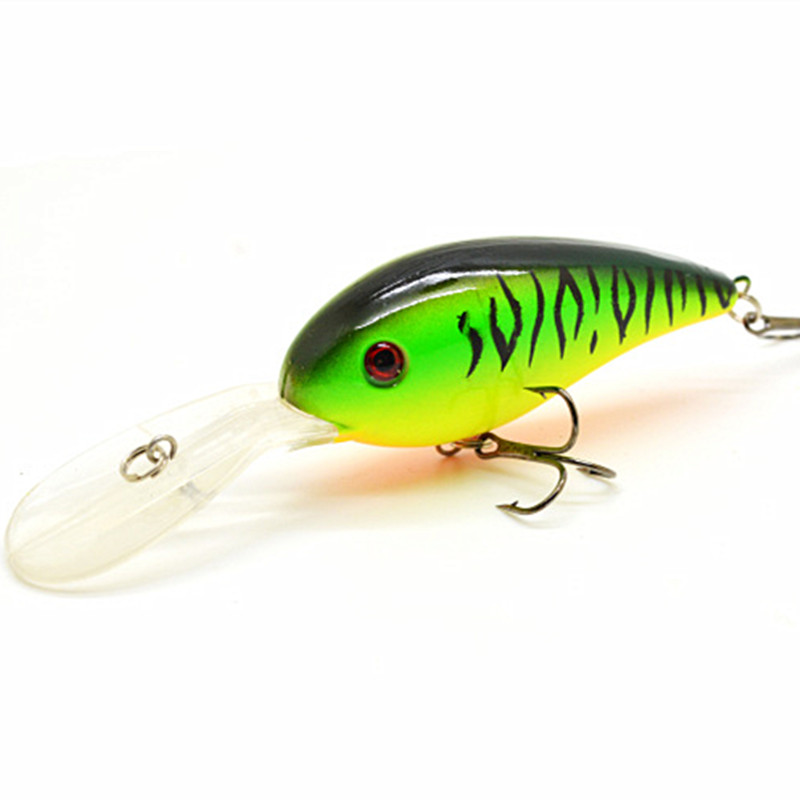 15G 10.5C Big Temptation Fishing Lures Minnow Crank Bait Crankbait Bass Tackle Treble Hook bait wobblers fishing free shipping