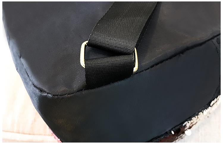 Backpacks women Korean mini 2018 new sequined shell fashion trend women go with small backpacks travel backpack 102