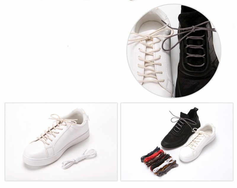 Hot 1 Paio di Cotone Cerato Rotonda Scarpe di Cuoio del merletto lacci delle scarpe Lacci Impermeabili Mens Martin Stivali Merletto Shoestring