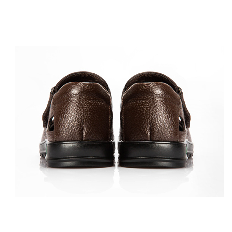 YWEEN Genuine Leather Casual Leather Sandals for Men