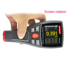 Car paint Thickness Gauge Digital Meter WT2110 0-1500um Screen Rotation HD Color-screen Film Coating