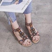 New Flat Sandals Women Bohemia Beach Summer Shoes Women Sandals Scarpe Donna Zapatos Mujer Sandalias