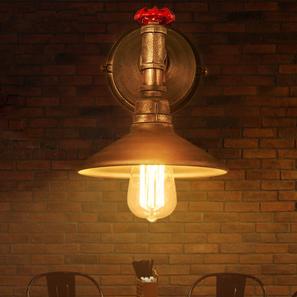 IWHD Iron Water Pipe LED Wall Lamp Loft Industrial Vintage Wall Light Fixtures Home Lighting Bar Cafe Applique Murale Luminaire iwhd iron water pipe loft led wall lamp rh retro industrial vintage wall light bedside fixtures home lighting indoor luminaire