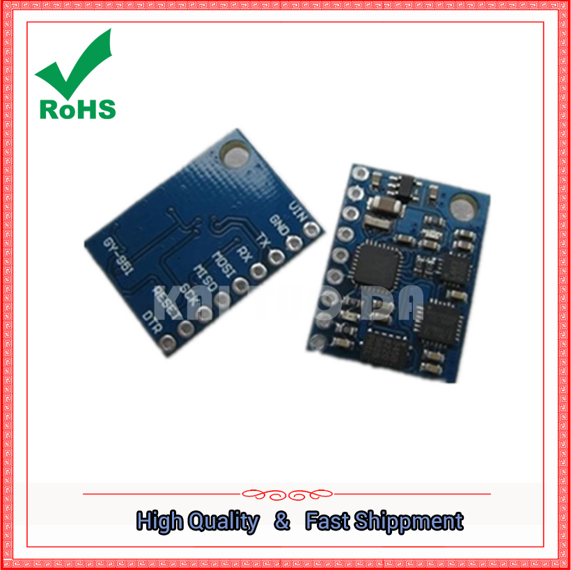 GY 951 angle module tilt electronic compass compass module xyz three axis serial port output board